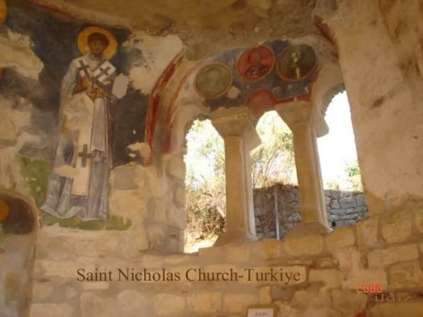 Saint Nicholas Church Myra Turkey