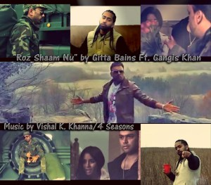 "Roz Shaam Nu"" by Gitta Bains Ft. Gangis Khan"