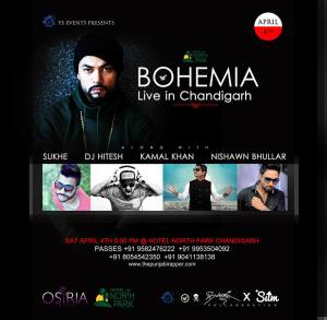 Bohemia Live | Chandigarh