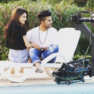 Guru Randhawa + actress/model